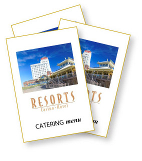 Resorts AC Catering Menu