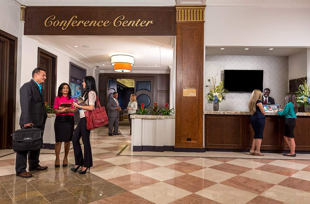 conference center entrance atlantic city meetings space