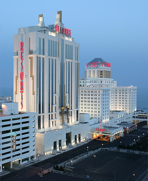 Dual Tower Exterior Resorts Atlantic City